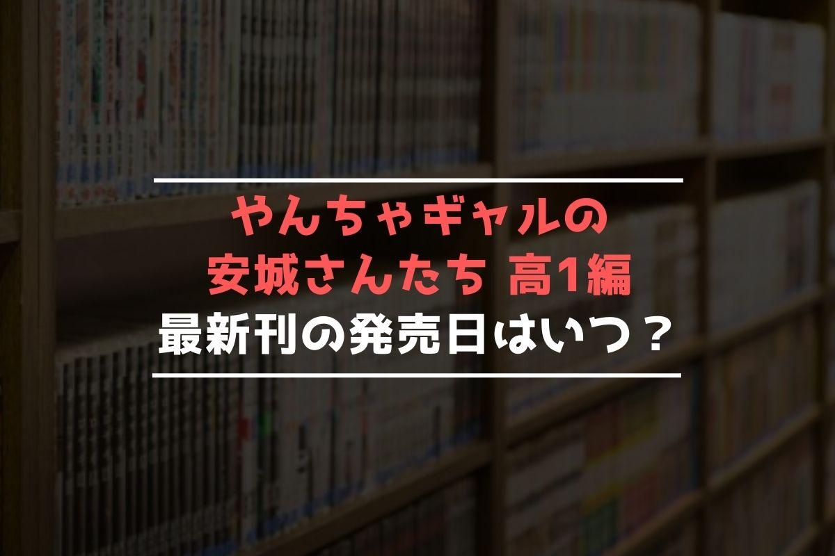 やんちゃギャルの安城さんたち 高1編 最新刊 発売日